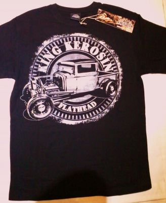 King Kerosin T-Shirt - Flathead