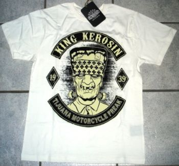 King Kerosin T-Shirt offwhite / Tijuana Motorcycle