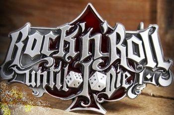 Rumble 59 Buckle - Rock`n`Roll Until I Die