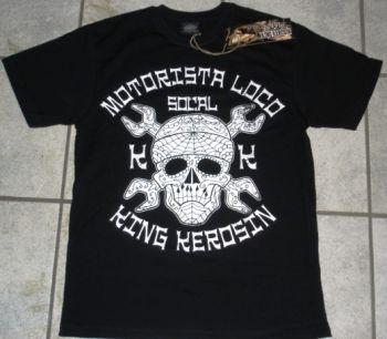 King Kerosin T-Shirt - Motorista Loco