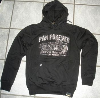 King Kerosin Hoodie Gestickt - Pan Forever / Limited Edition