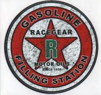 King Kerosin Sticker ST-NRG / Racegear Motor Oils