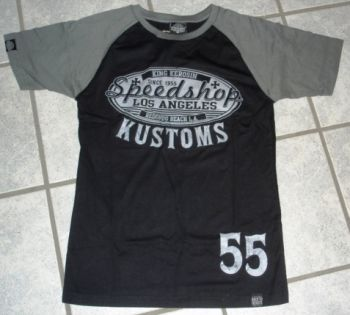 King Kerosin Raglan T-Shirt - Speed Shop Kustoms