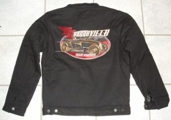 King Kerosin *Gestickte* Workerjacket - Bonneville /  Limited Edition