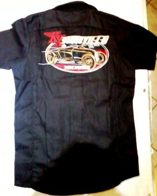 KING KEROSIN BESTICKTE RETRO Shirt / Bonneville