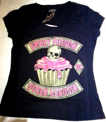 King Kerosin Vintage T-Shirt Tgv-QPO / Sweet Poison