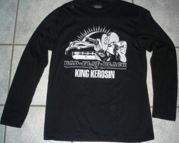 King Kerosin Longsleeve LS-SBF / Bad-Flat-Black