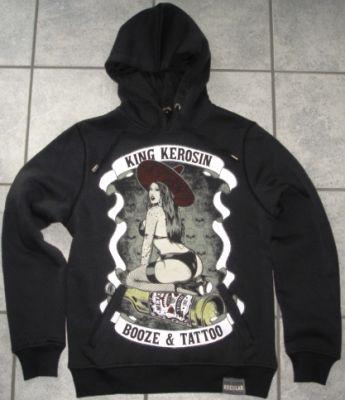 King Kerosin Standard Hoodie  HS - Booze & Tattoo