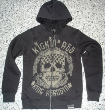 King Kerosin Standard Hoodiejacket  Shj-ASS / Kickin Ass