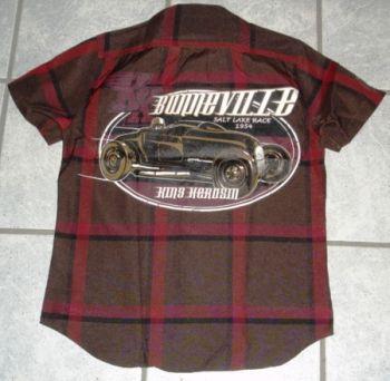 KING KEROSIN Kurzarm-Holzfäller Shirt-BOV / Bonnevlle