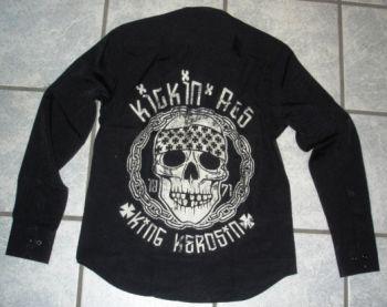 King Kerosin Lang Arm Worker Shirt Limited Edition - Kickin ASS