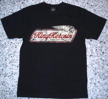 King Kerosin Regular T-Shirt / Indian - black