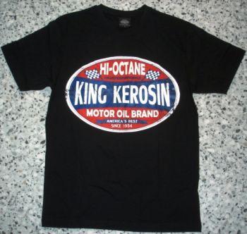 King Kerosin Regular T-Shirt / HI Octane - black