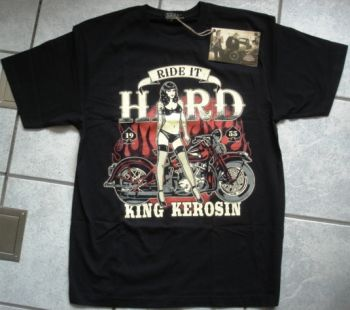 King Kerosin Regular T-Shirt / Ride it Hard