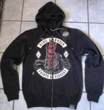 King Kerosin Standard Hoodiejacket - Saints & Sinners