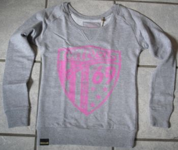Sweatshirt Since 1969 von Queen Kerosin / Pink