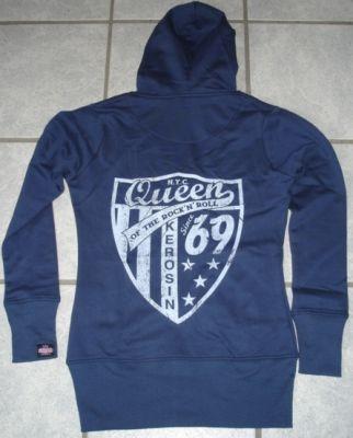 Sweatjacket Since 1969t von Queen Kerosin / blue
