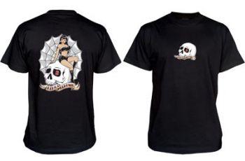 King Kerosin T-Shirt Tr - LSG / Skull Girl