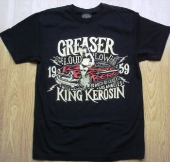 King Kerosin Regular T-Shirt / Greaser Car Club