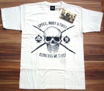 King Kerosin Regular T-Shirt offwhite / Speed, Rust & Dust