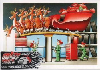 X-Mas Cards Santa Claus  X - 591