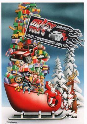X-Mas Cards Santa Claus  X - 467