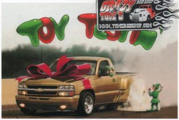 X-Mas Cards Custom Cars  X - 453