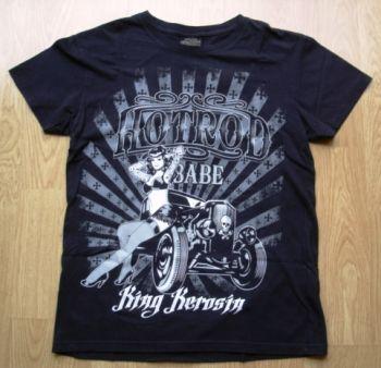King Kerosin Vintage T-Shirt - Hotrod Babe