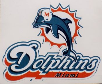 Miami Dolphins Sticker