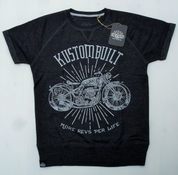 Cut Raglan Sweater von King Kerosin-MRPL/Motorcycles