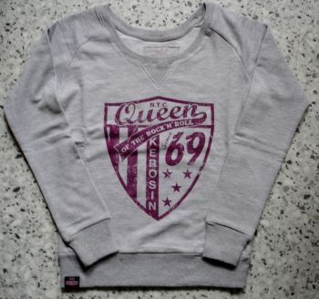 Sweatshirt  von Queen Kerosin - Since 1969 / rosa