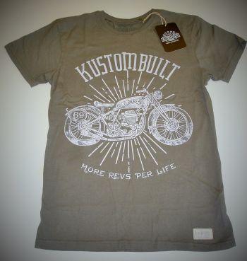 King Kerosin Vintage-Shirt olive - Mrpl Motorcycles