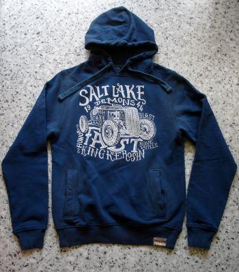 Used-Airbrush-Hoodie blau - Salt Lake Demons