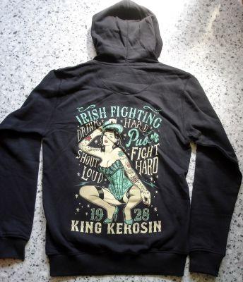 King Kerosin Standard Hoodiejacket - Irish Fighting