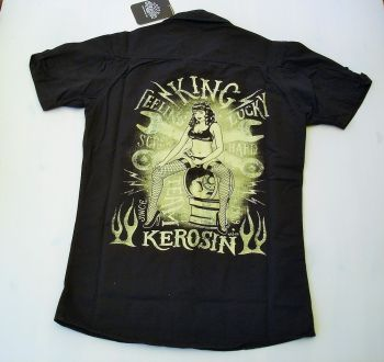 King Kerosin Worker Shirt - Screw Hard