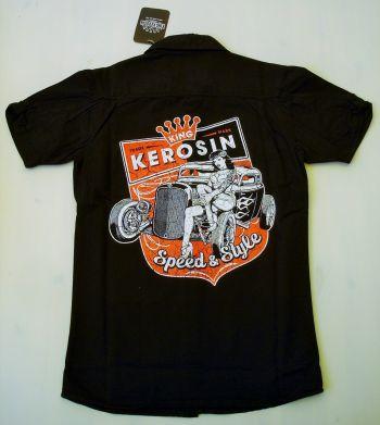 King Kerosin Worker Shirt -  Speed & Style