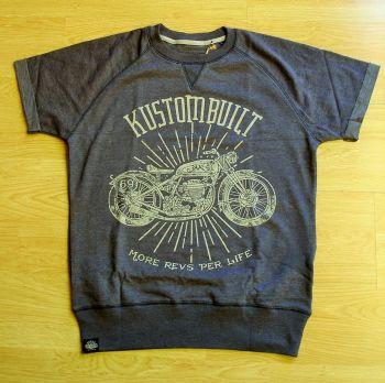 Cut Raglan Sweater von King Kerosin - MRPL / Motorcycles blau