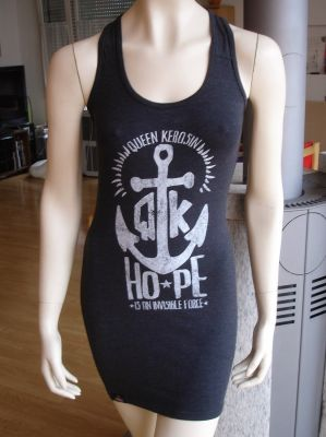 Tankdress  von Queen Kerosin -  Hope / schwarz