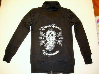 Zip-Sweater von Queen Kerosin - California