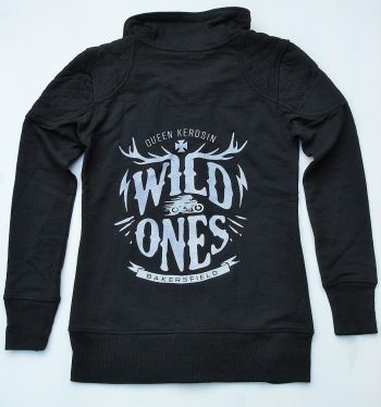 Zip-Sweater von Queen Kerosin - Wild Ones