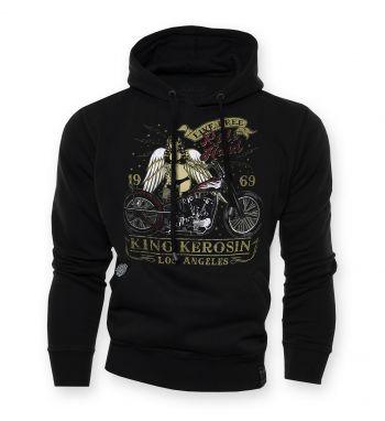 King Kerosin Standard Hoodie  HS-Ride Hard L.A.