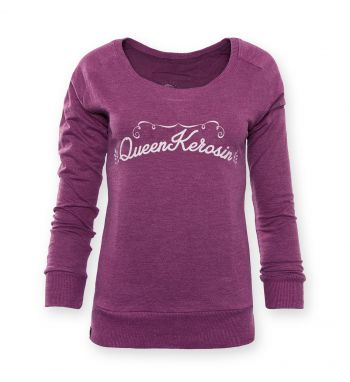 Sweatshirt von Queen Kerosin - Kustombuilt Cat