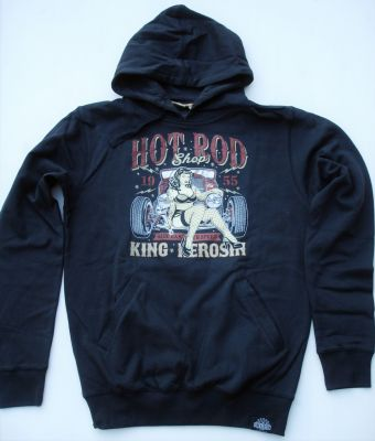 King Kerosin Standard Hoodie  HS-Hot Rod Shop 1955