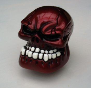 Schaltknauf - Punchy Skull / Rot