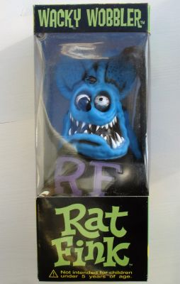 Wobbler - Rat Fink / Blau