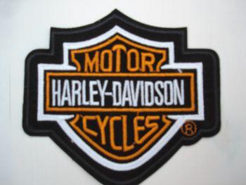 Patch -  Harley-Davidson Motor Cycles / Schild
