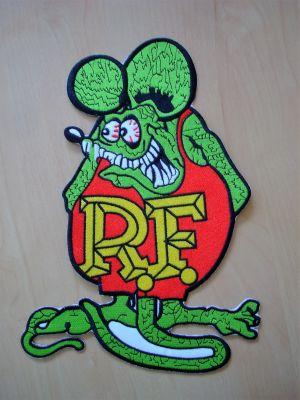 Rücken -Patch PTKR-Rat Fink