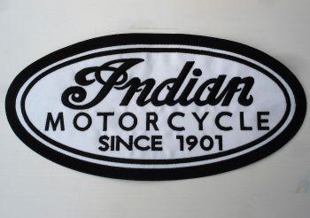 Rücken-Aufnäher / Patch - Indian Motorcycle / Since 1901