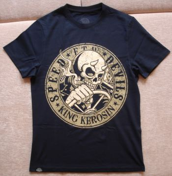King Kerosin Regular T-Shirt / Speed Devils - black