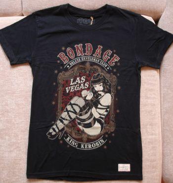 Vintage T-Shirt - Bondage / black